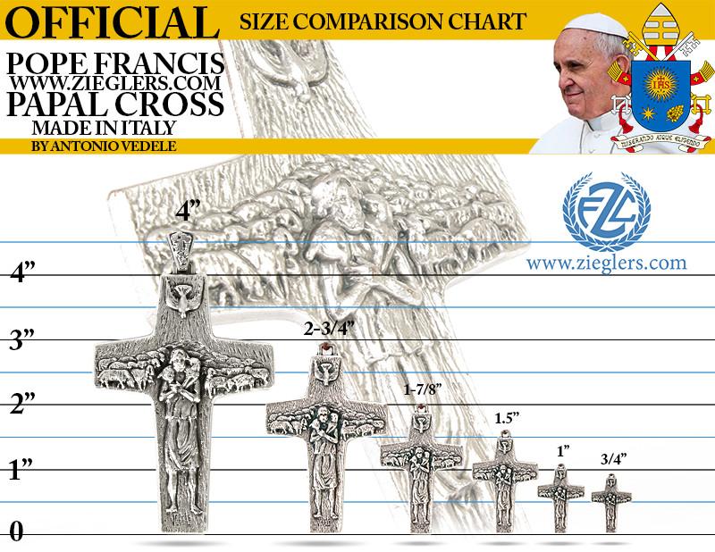 Venerare Christ The Good Shepherd Pope Francis Papal Cross