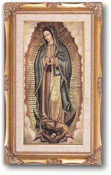 Framed Print Of Our Lady Of Guadalupe Style Hi142895 Fc