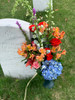 Palace's Cemetery Flower Tribute - Mixed Colored Bouquet Only