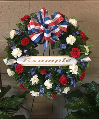 School Visit Wreath