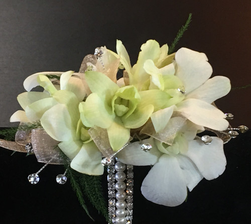 Best Night Wrist Corsage in Rockville MD, Palace Florists