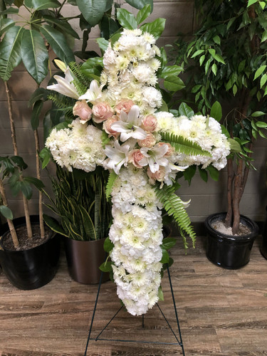 Palace's Custom Funeral Cross