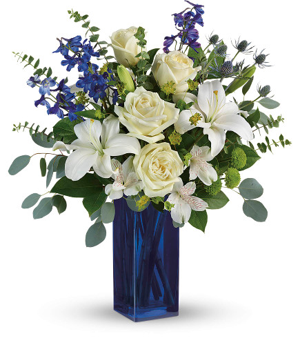 Cleveland Park Cobalt in Rockville MD, Palace Florists