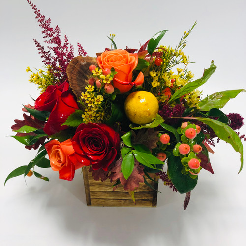 Fall in Foggy Bottom in Washington DC,  Palace Florists