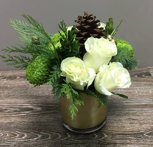 Snowy Winter- Set of 2 - Local Delivery Only