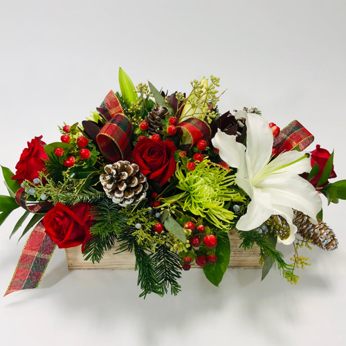 Box of Holiday Love in Washington DC, Palace Florists