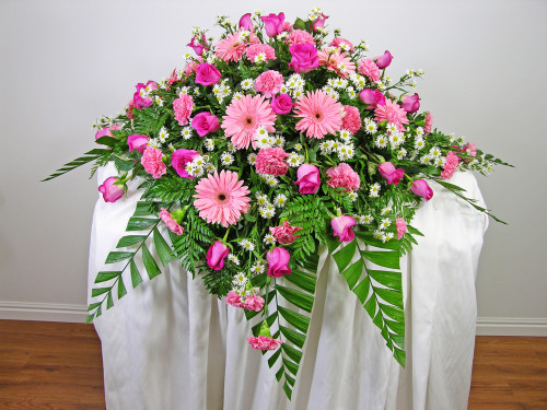 Expressions Casket Spray | Rockville MD | Palace Florists
