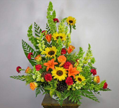 Field of Dreams Funeral Basket in Rockville MD, Palace Florists
