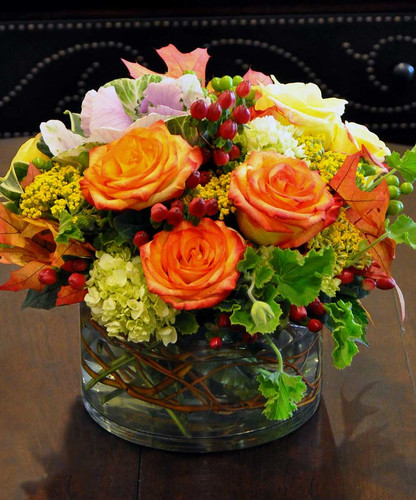 Essence of Autumn in Rockville MD, Palace Florists
