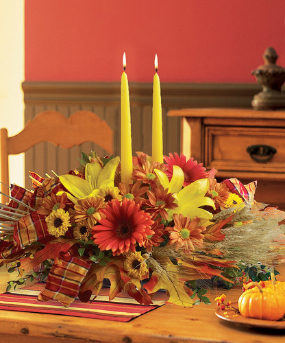 Country Harvest Centerpiece in Rockville MD, Palace Florists