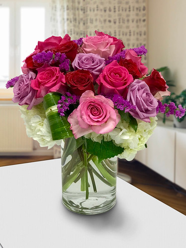 Rosy Romance in Chevy Chase, Palace Florists