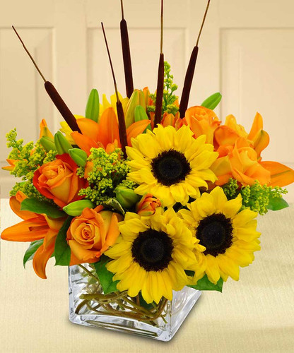 Splash of Fall in Rockville MD, Palace Florists