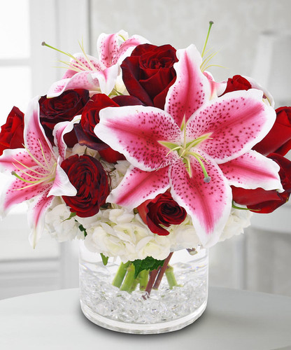 Charmed with Lilies in Bethesda MD, Palace Florists