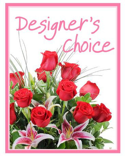 Designer's Choice for Valentine's Day