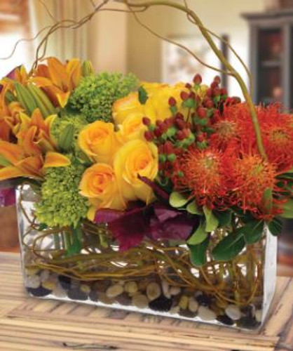 Fall Sophistication in Chevy Chase MD, Palace Florists