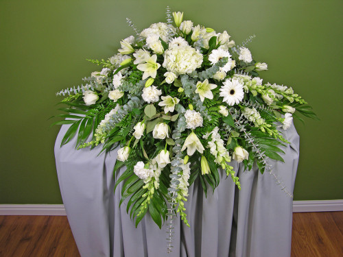 Peaceful Moments Casket Spray in Rockville MD, Palace Florists