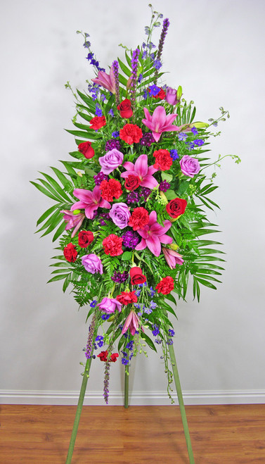 Loving Thoughts Funeral Spray in Rockville MD, Palace Florists