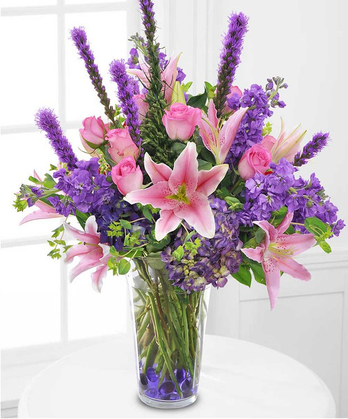 Purple and Pink Paradise in Rockville MD, Palace Florists