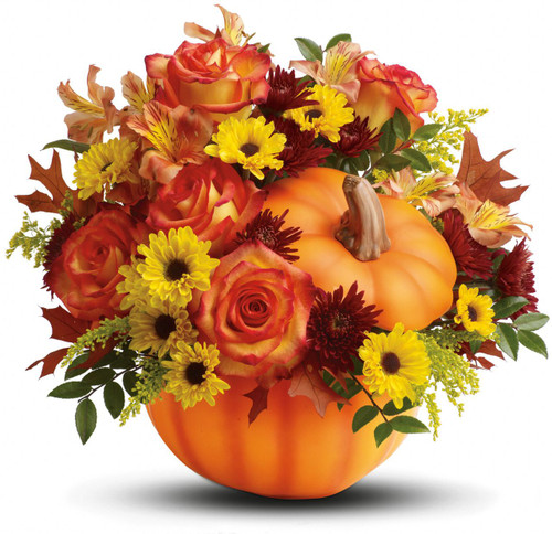Palace's Ceramic Pumpkin Bouquet - Top Not Available