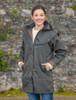 Skellig Ladies Waterproof 3/4 Coat - Olive