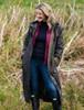 Jack Murphy Donegal Ladies Waterproof Full Length Coat -Olive