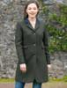 Pamela Tweed Coat - Winning Green