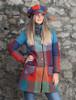 Emma Tweed Herringbone Coat - Donegal Red
