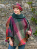 Amy Connemara Cape - Multi-Mulberry