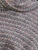Wool Country Stole - Connemara Light Grey