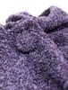 Tara Cashmere Blend Hooded Cape - Purple Marl