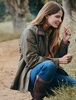 Mountrath Ladies Waxed Cotton Jacket - Dusky Green