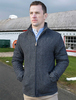 Donegal Wool Tweed Walking Jacket - Charcoal
