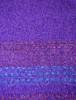 Fine Lambswool Celtic Stole - Purple Wine