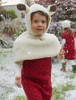 Hooded Baby Capelet with Ears