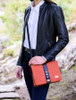 Fiona Tweed Bag - Rust