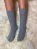 Wool Socks - Light-grey