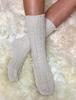 Wool Socks - White