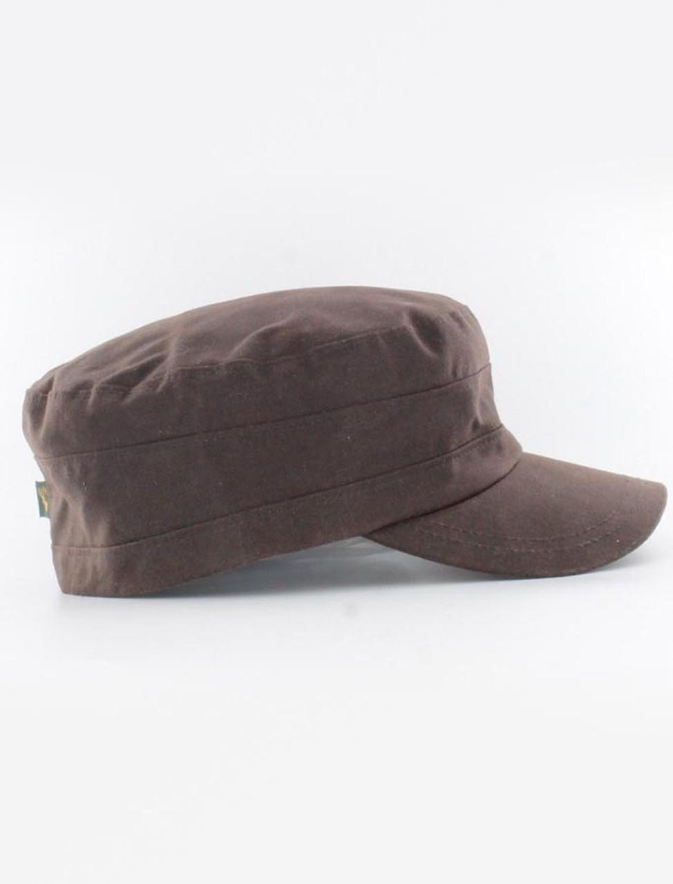 100bf71f36e Fisherman Waxed Cap - Brown