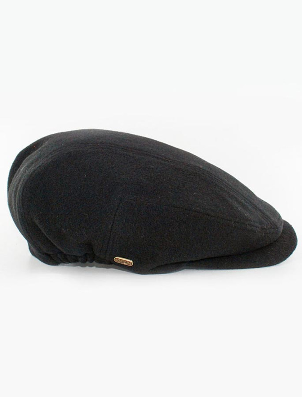493012b8f84 Kerry Tweed Flat Cap - Black
