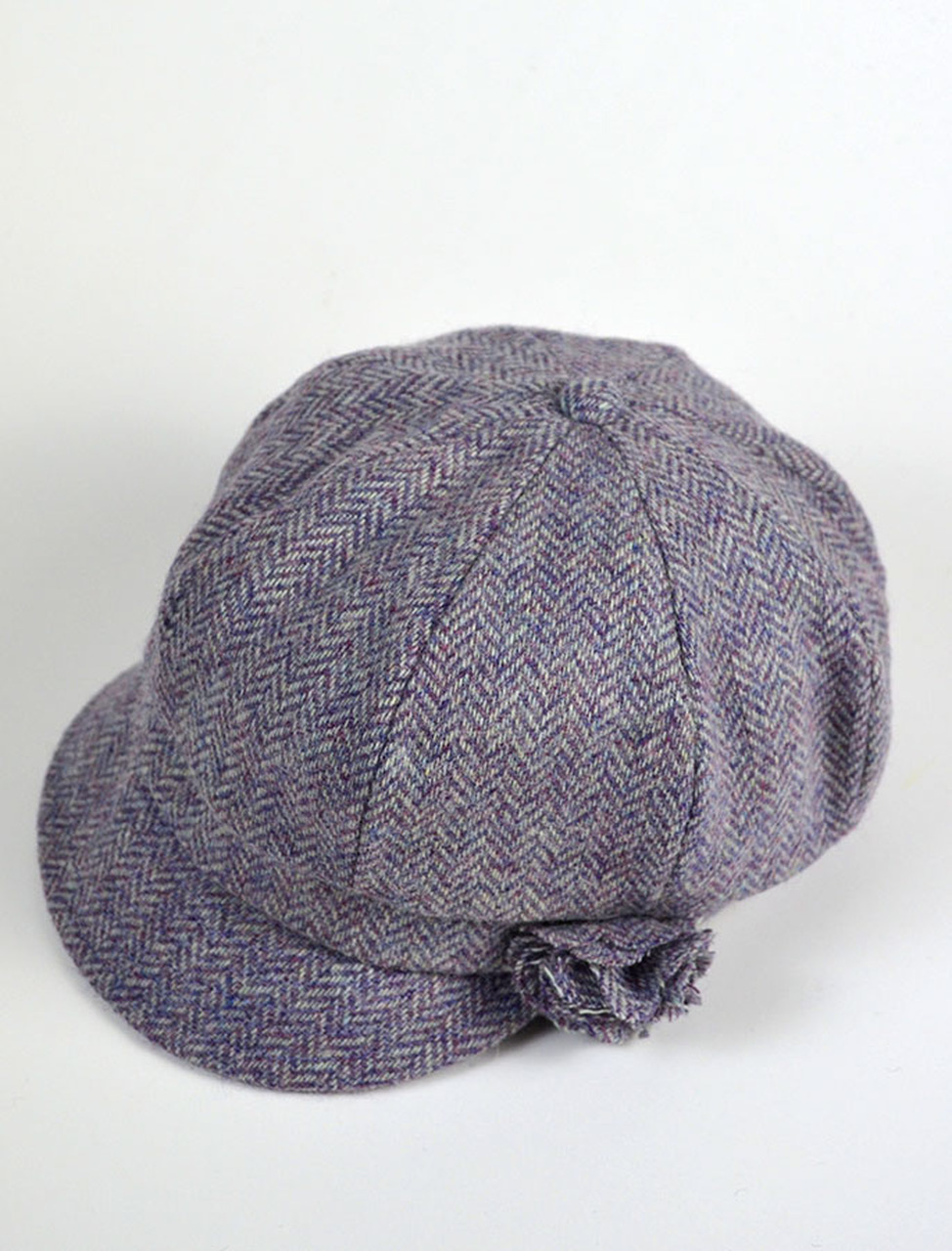 Ladies Shannon Newsboy Hat Lavender