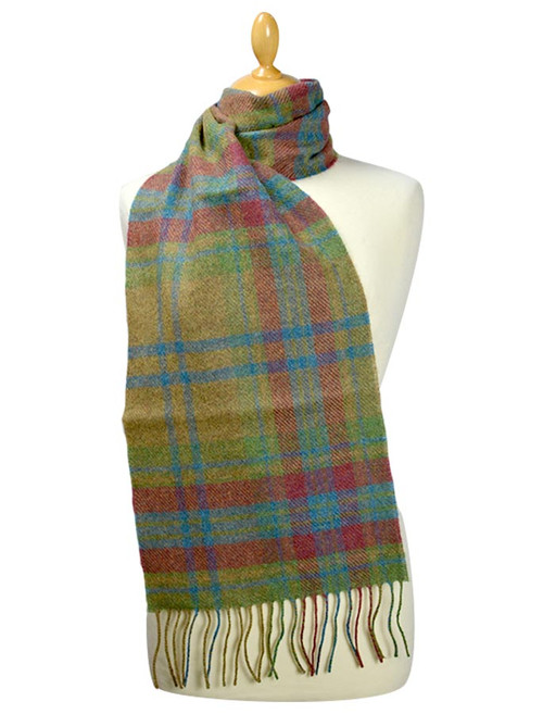 Lambswool Scarf - Traditional Large Check