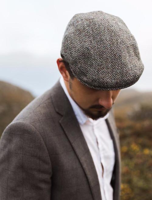 bde8c562 Harris Tweed Traditional Flat Cap; Harris Tweed Traditional Flat Cap ...