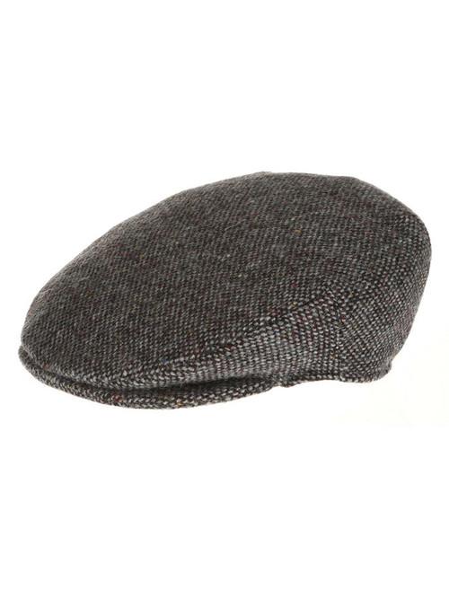 f1f46ca685d86 Vintage Tweed Flat Cap - Grey Salt   Pepper