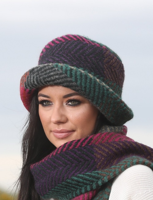 Country Hat - Multi Mulberry
