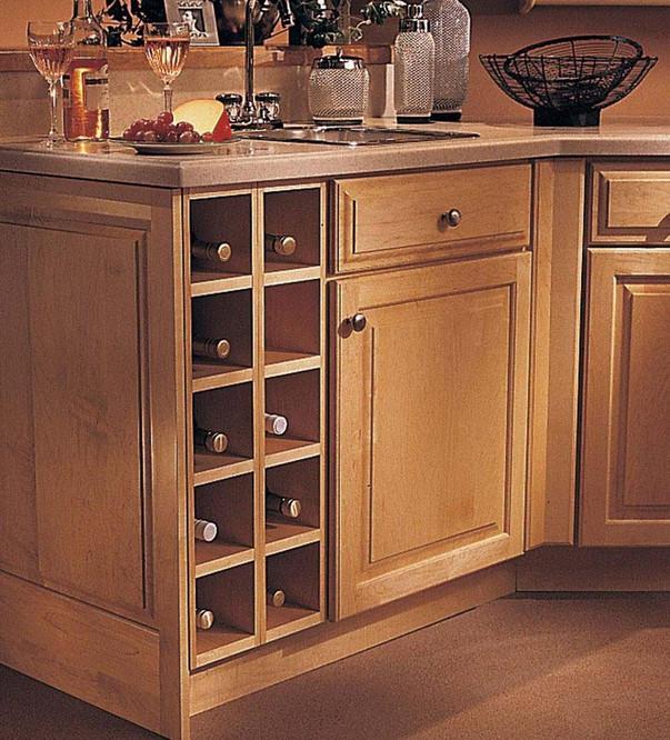 Base Wine Rack Cabinet Kraftmaid