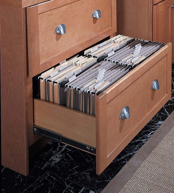 Desk Double File Drawer Kraftmaid