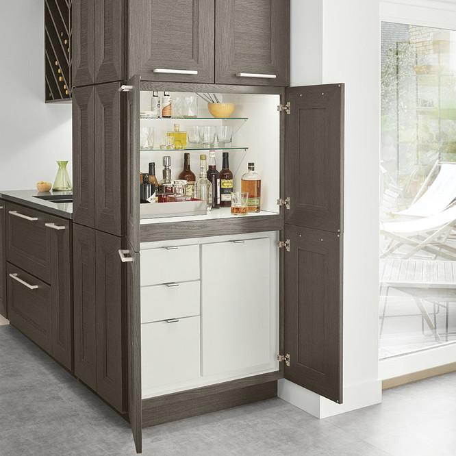 Home Bar Cocktail Cabinet Furniture Kraftmaid