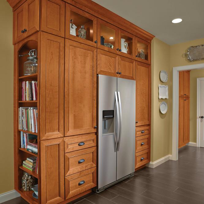 Kitchen Pantry Cabinet Display Kraftmaid