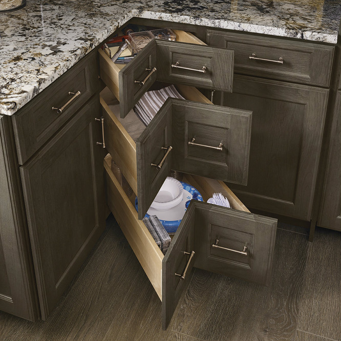 Corner Drawers - KraftMaid