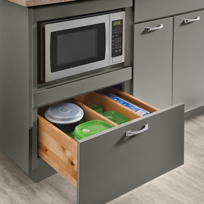 Base Microwave Cabinet 24\